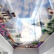 3D потолки Натяжные потолки Гомель
